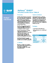 BASF Catalysts | Fine Chemical