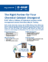 Thumbnail for: BASF: The Right Partner for Your Chemical Catalyst Changeout