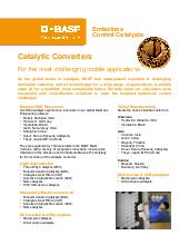 BASF Catalysts | Heavy Duty Diesel (HDD)