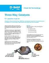 BASF Catalysts   Light Duty Gas (LDG)